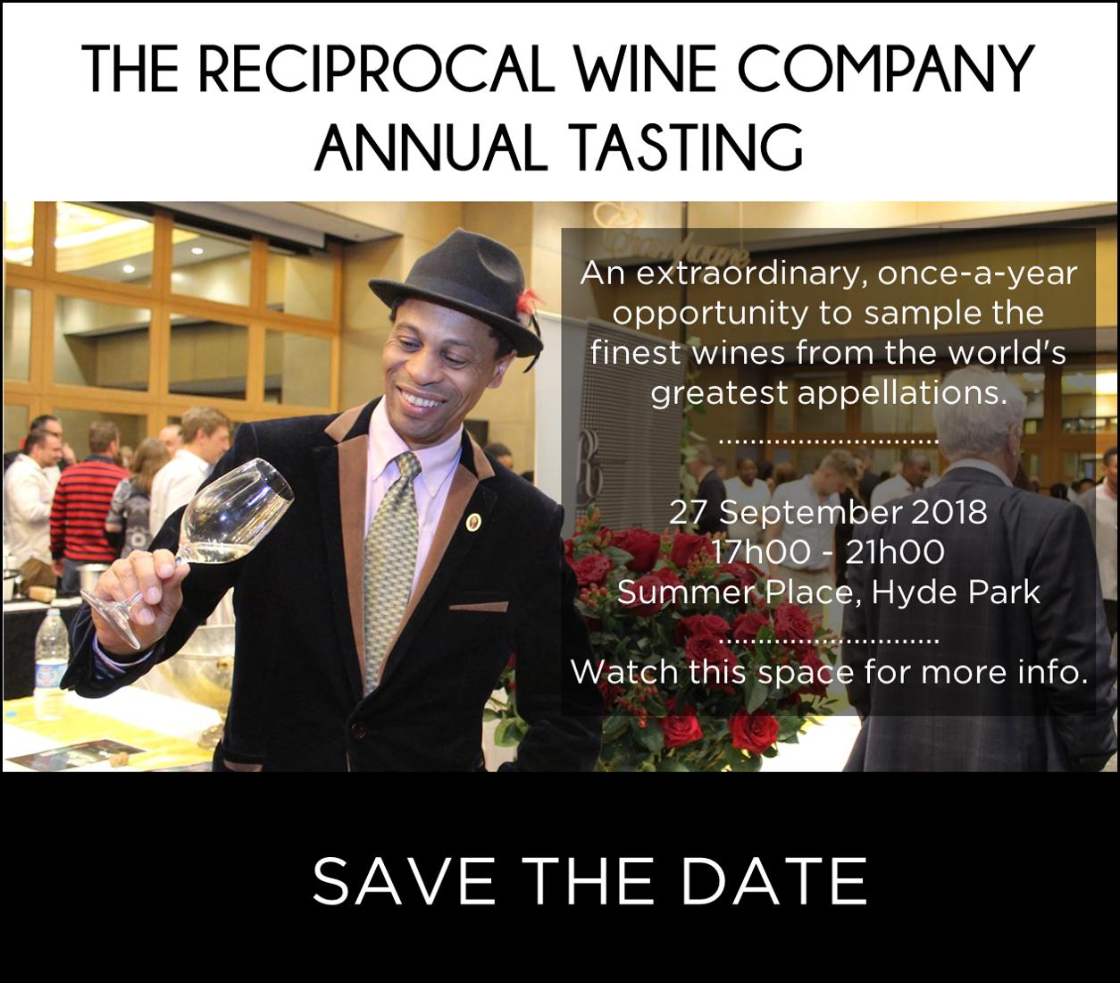 Reciprocal Wine Company Annual Tasting