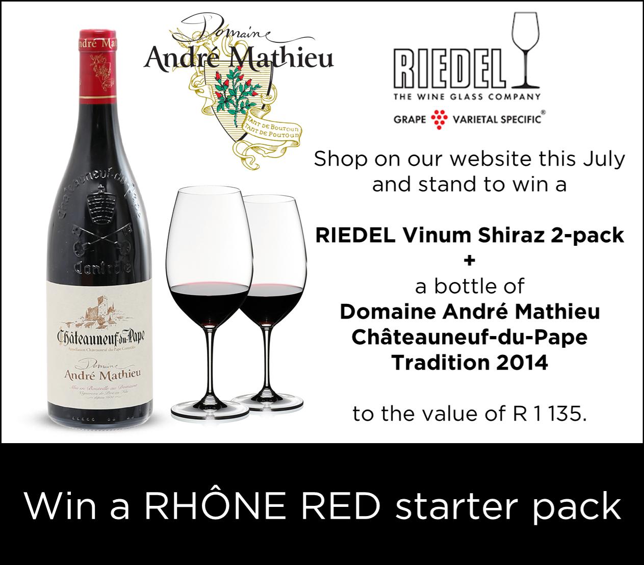 Win a Rhone red starter pack
